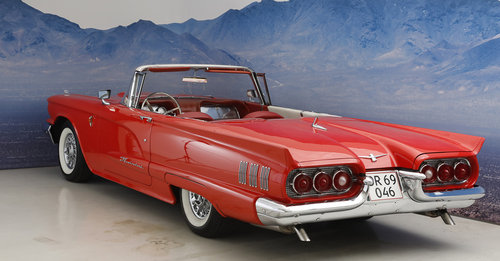 1960 Ford Thunderbird 5,7 Convertible SOLD (picture 2 of 6)