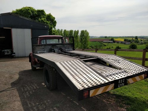 One of a kind 1955 Ford F600 car transporter For Sale (picture 4 of 6)