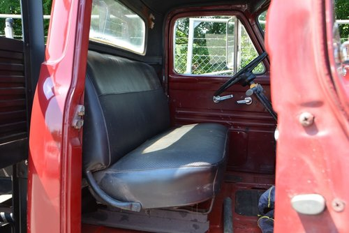 One of a kind 1955 Ford F600 car transporter For Sale (picture 6 of 6)