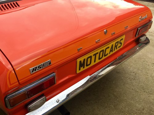 1975 GENUINE FORD ESCORT Mk1 RS2000 For Sale (picture 4 of 6)