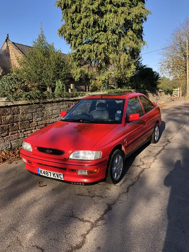 1992 Ford Escort XR3I, Only 58607 miles from new  SOLD (picture 1 of 6)