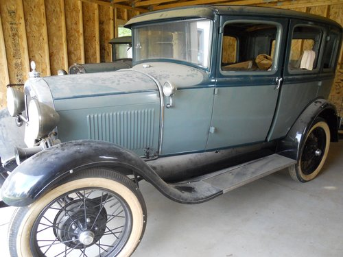1929 Ford 4DR Town Car For Sale (picture 1 of 4)