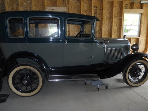 1929 Ford 4DR Town Car For Sale (picture 3 of 4)