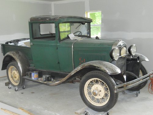 1931 Ford Model A Pickup For Sale (picture 3 of 6)