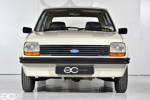 1981 Incredible Mk1 Fiesta 1100S - 15K Miles - 1st Owner 33 Years SOLD (picture 1 of 6)