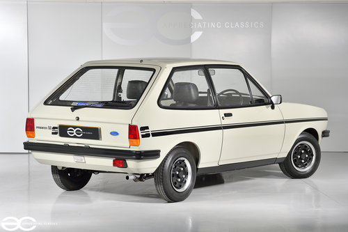 1981 Incredible Mk1 Fiesta 1100S - 15K Miles - 1st Owner 33 Years SOLD (picture 4 of 6)