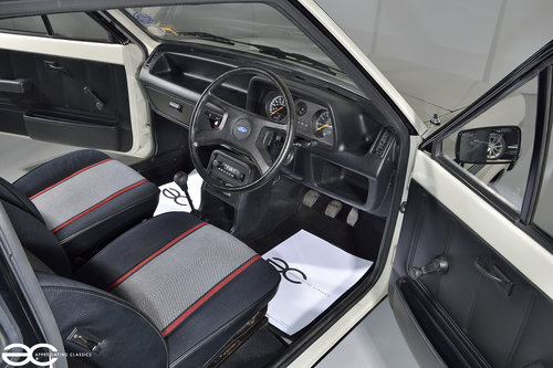 1981 Incredible Mk1 Fiesta 1100S - 15K Miles - 1st Owner 33 Years SOLD (picture 5 of 6)