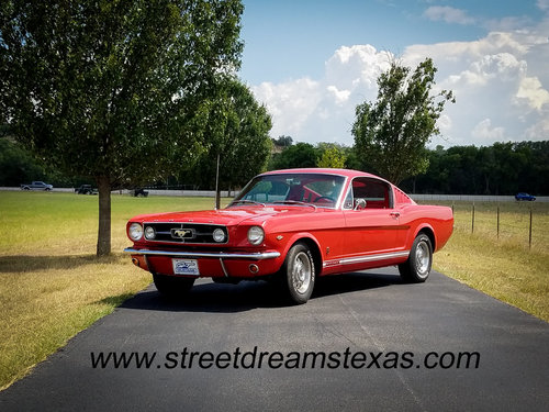 1965 MUSTANG REAL GT FASTBACK A CODE 4 SPEED SOLD (picture 1 of 6)