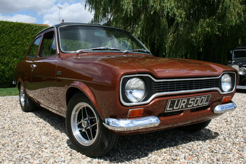 1973 Ford RS AVO Escort Mexico MK1 in Stunning Order throughout For Sale (picture 5 of 6)