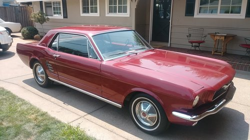 Ford Mustang Coupe 1966 For Sale (picture 1 of 6)