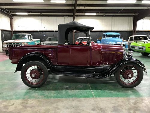1928 Ford Model A Roadster Pickup For Sale (picture 3 of 6)