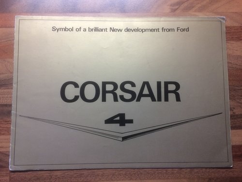 1958 Ford Corsair brochure For Sale (picture 1 of 3)