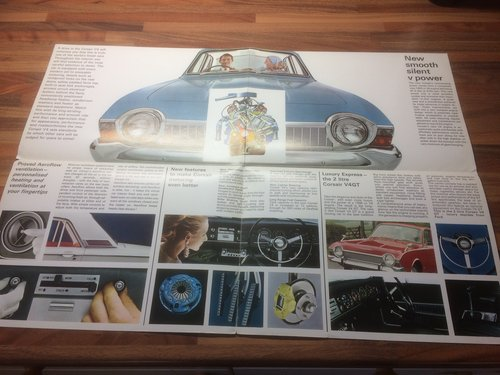 1958 Ford Corsair brochure For Sale (picture 2 of 3)