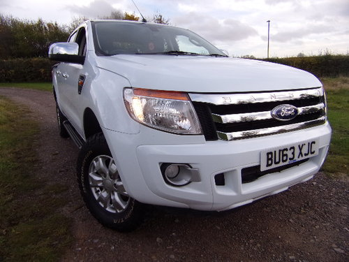 2013 Ford Ranger XLT 4X4 TDCi For Sale (picture 1 of 6)