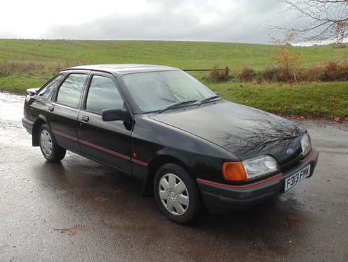 1988 Ford Sierra 1.8LX SOLD (picture 2 of 6)