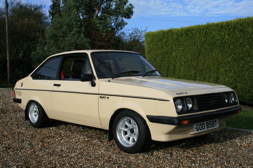 1980 MK2 RS 2000 Custom in Superb Order .NOW SOLD,MORE RS FORDS Wanted (picture 1 of 6)