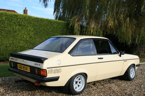 1980 MK2 RS 2000 Custom in Superb Order .NOW SOLD,MORE RS FORDS Wanted (picture 4 of 6)