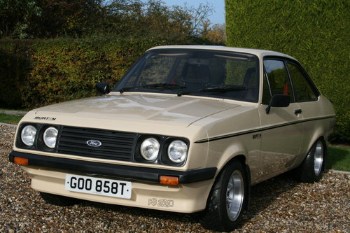1980 MK2 RS 2000 Custom in Superb Order .NOW SOLD,MORE RS FORDS Wanted (picture 6 of 6)