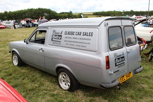 1979 MK2 FORD ESCORT VAN WITH MOT SHOW CONDITION REBUILT 1.6 SOLD (picture 2 of 6)