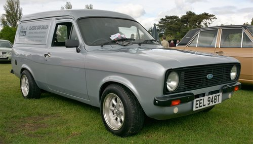 1979 MK2 FORD ESCORT VAN WITH MOT SHOW CONDITION REBUILT 1.6 SOLD (picture 4 of 6)