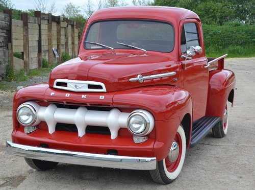 1952 Ford F1 Truck  For Sale (picture 1 of 6)