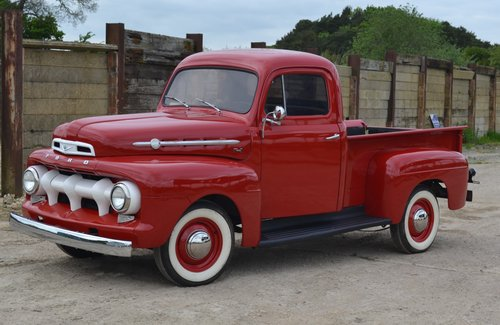 1952 Ford F1 Truck  For Sale (picture 2 of 6)