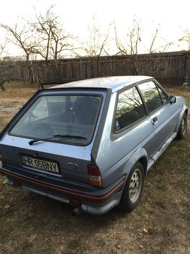 1985 Ford Fiesta XR2 for sale, without restoration For Sale (picture 3 of 6)