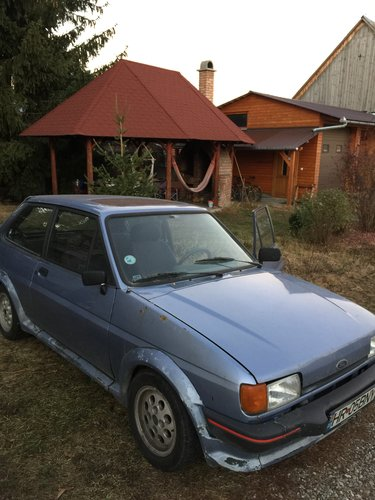 1985 Ford Fiesta XR2 for sale, without restoration For Sale (picture 4 of 6)