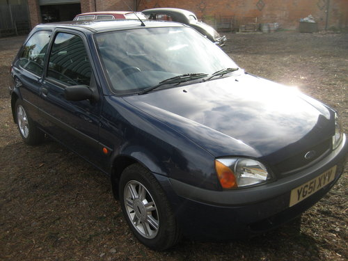 2001 Ford Fiesta 29000 miles only SOLD (picture 1 of 6)