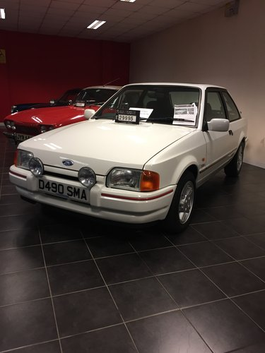 Escort XR3i as new condition, 5k miles SOLD (picture 1 of 5)