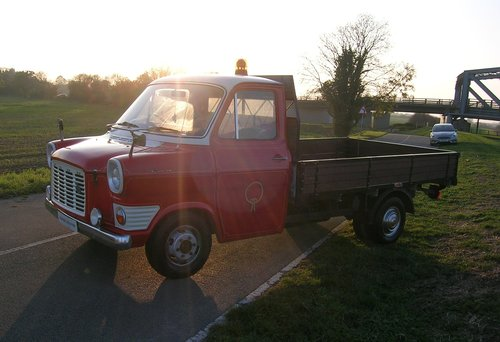 1974 Ford Transit MK1 Bull Nose Pick Up Commerical Historic  For Sale (picture 2 of 6)