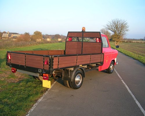 1974 Ford Transit MK1 Bull Nose Pick Up Commerical Historic  For Sale (picture 3 of 6)