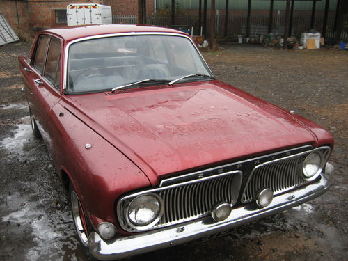 1963 Ford Zephyr 6 Mk 111 Automatic SOLD (picture 1 of 6)