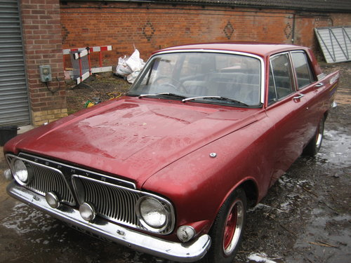 1963 Ford Zephyr 6 Mk 111 Automatic SOLD (picture 2 of 6)