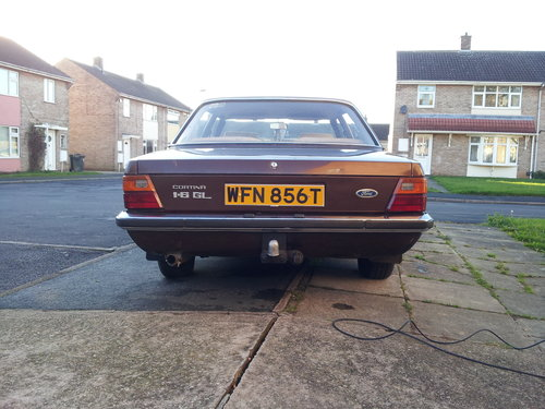 Ford Cortina mk4 1979 1.6GL For Sale (picture 6 of 6)