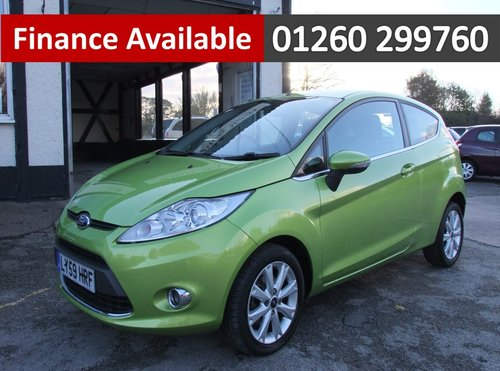 2010 FORD FIESTA 1.4 ZETEC TDCI 3DR SOLD (picture 1 of 1)