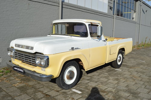 1959  Ford F250 V8  For Sale (picture 1 of 6)