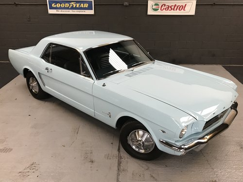 1964 1965 Ford Mustang 289 4.7 V8 Coupe For Sale (picture 1 of 6)