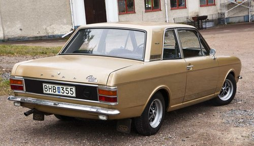 1969 Rare 2door Ford Cortina 1600e SOLD | Car And Classic