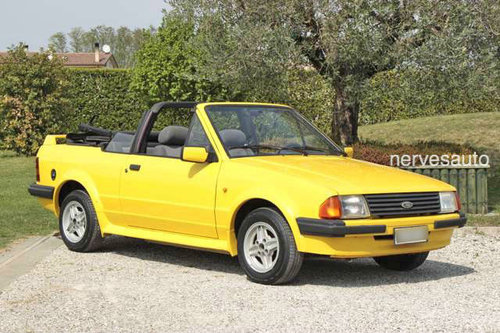 1984 Ford Escort Cabriolet For Sale (picture 1 of 6)