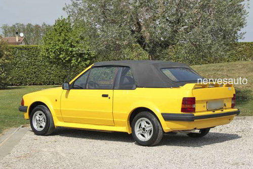 1984 Ford Escort Cabriolet For Sale (picture 6 of 6)
