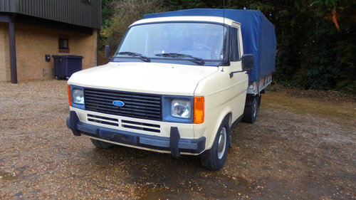 1983 MK2 FORD TRANSIT PICKUP For Sale (picture 1 of 6)