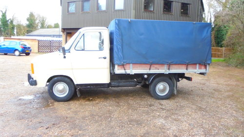 1983 MK2 FORD TRANSIT PICKUP For Sale (picture 2 of 6)