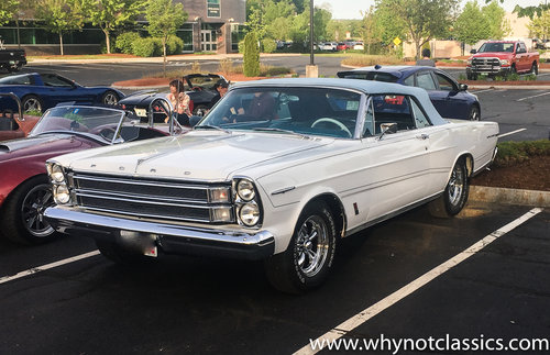 1966 Ford Galaxie 500 XL Convertible For Sale (picture 1 of 6)