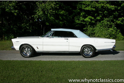 1966 Ford Galaxie 500 XL Convertible For Sale (picture 2 of 6)