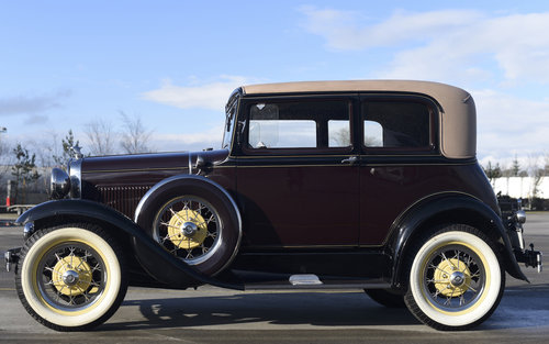 1931 Model A Ford Victoria For Sale (picture 3 of 6)