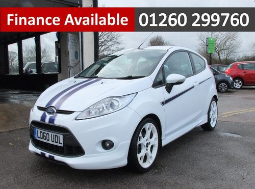 2010 FORD FIESTA 1.6 S1600 3DR SOLD (picture 1 of 6)