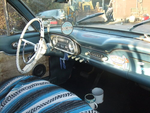 1962 Ford Falcon Squire, Surf Wagon, Woodie SOLD (picture 3 of 6)