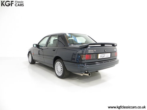 1992 A Ford Sierra Sapphire RS Cosworth 4X4 with Just 37516 Miles SOLD (picture 4 of 6)