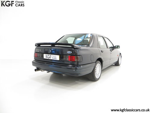 1992 A Ford Sierra Sapphire RS Cosworth 4X4 with Just 37516 Miles SOLD (picture 5 of 6)